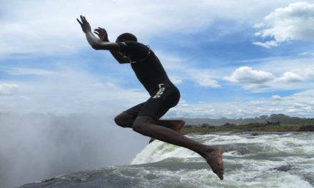 Check Out The Latest 'Extreme' Craze When Visiting Victoria Falls