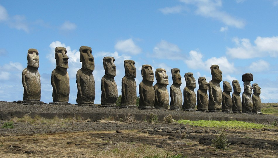 Easter Island bodies