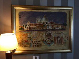 Art in owner's suite
