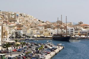 Syros Harbour, Greece