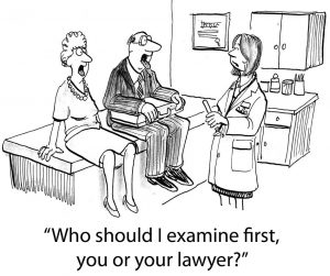 You or your lawyer