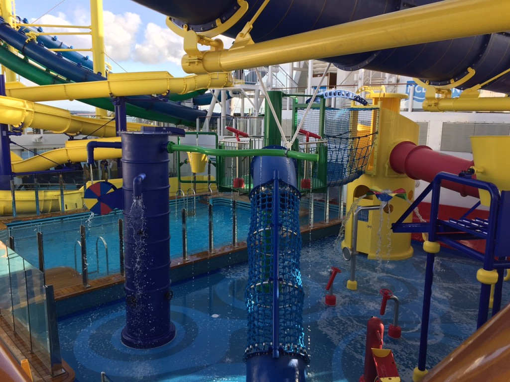 Kids splash zone