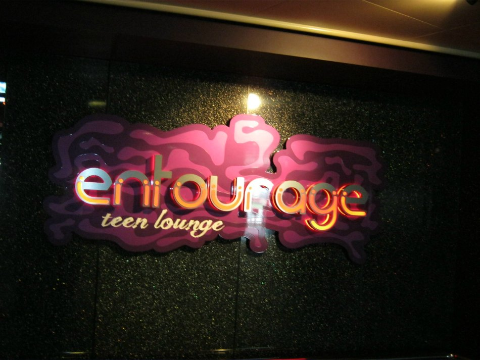 Entourage teen lounge