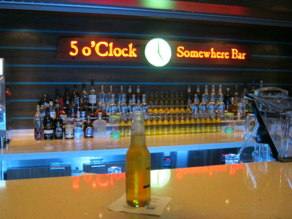 5 o clock somewhere bar