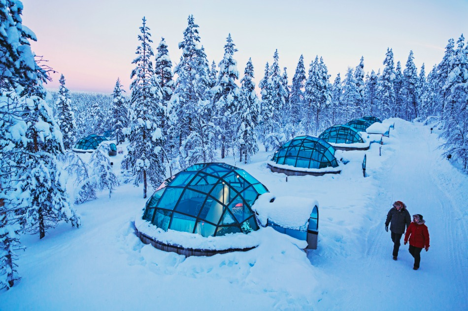 Kakslauttanen glass igloo 2
