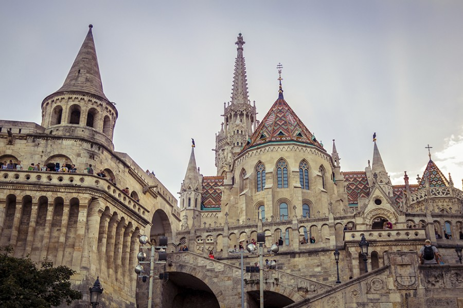 Budapest castle hill