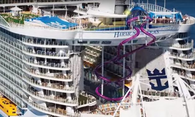 10 Storey High Slide Revealed On Harmony Of The Seas