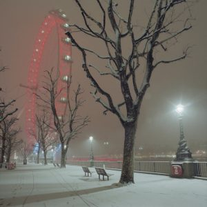 Snow on the South Bank