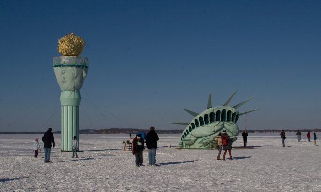 Eighteen Iconic Landmarks That Look Completely Different In Winter