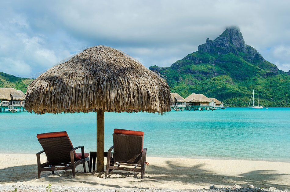 Bungalows On Stilts And The Paradise Of Bora Bora