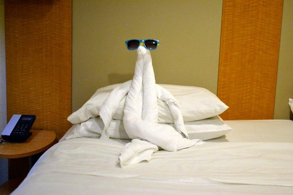royal caribbean towel animals