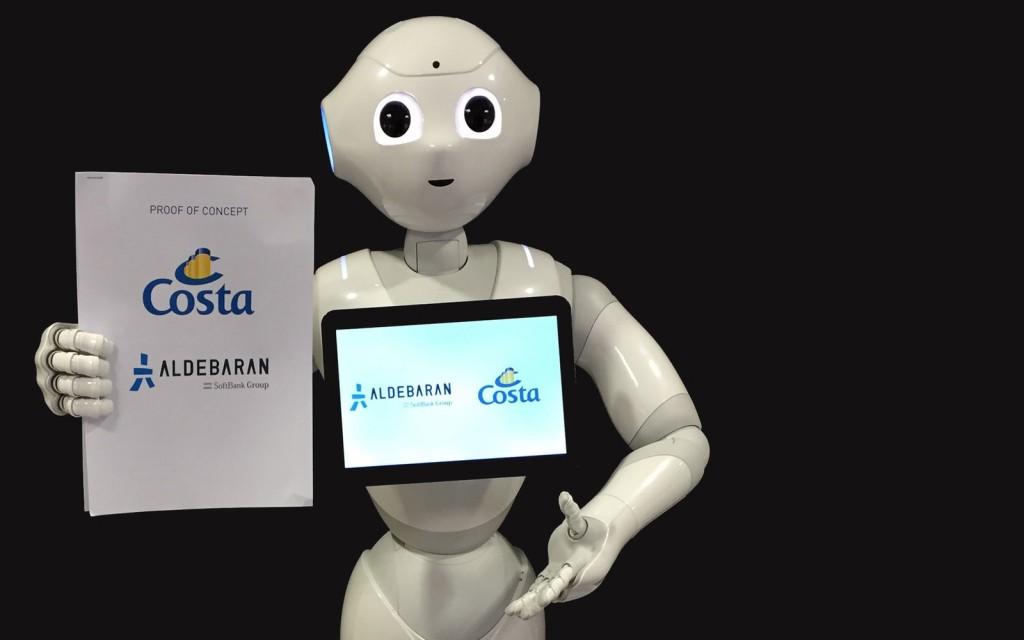 Peppa the robot