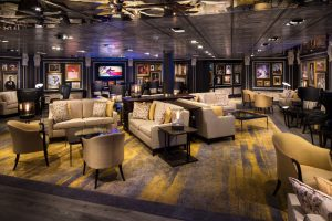Holland America bar
