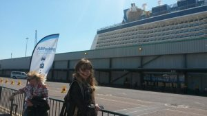 Boarding Anthem of the Seas