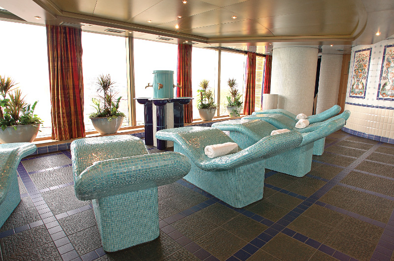 Holland America spa