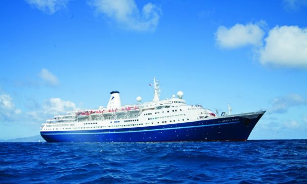 Pensioner Dramatically Rescued As She SWAM After Her Cruise Ship