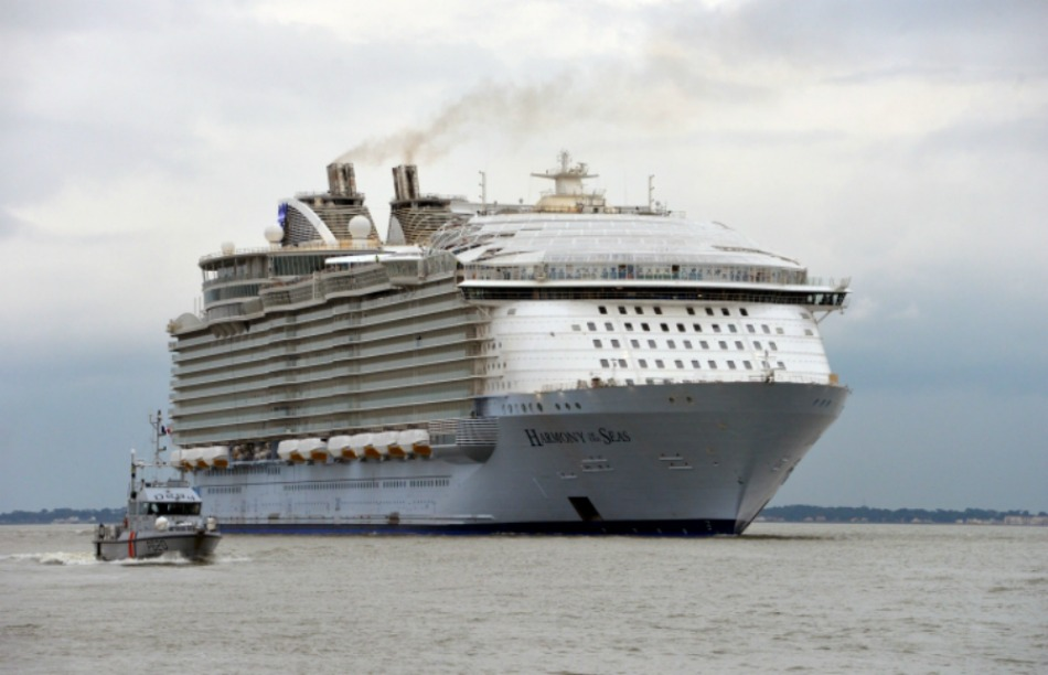 Harmony Of The Seas Tests The Waters