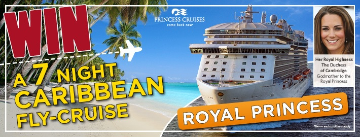 Win A Princess Cruise Cruise Bulletin