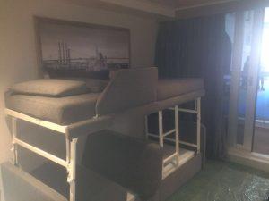 MSC cabin mock up