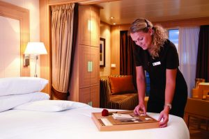 Personal suite stewardess
