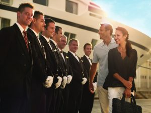 Welcome Aboard Seabourn