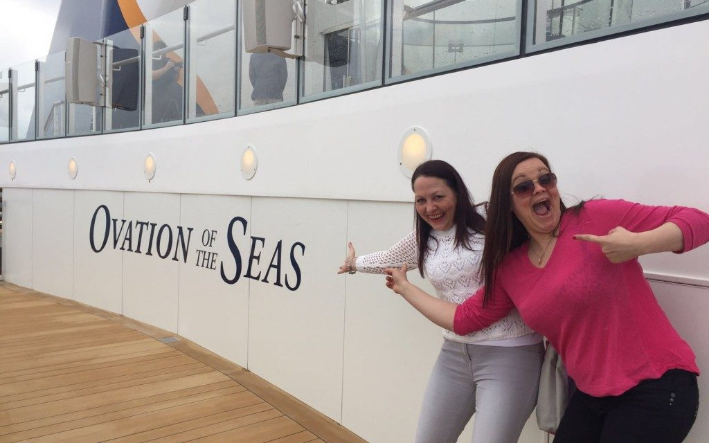 Ovation Of The Seas…She's Launched And We're Here!