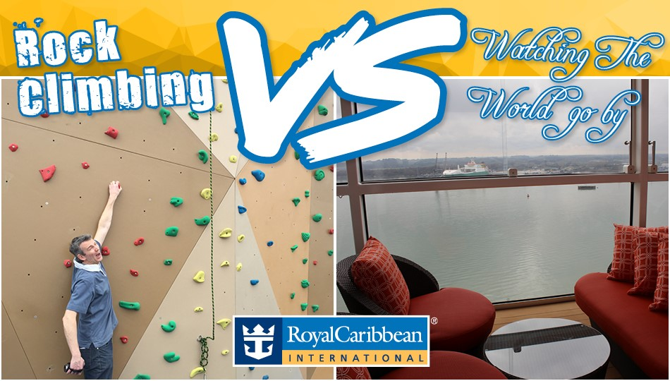 rock climbing VS watching the world go by