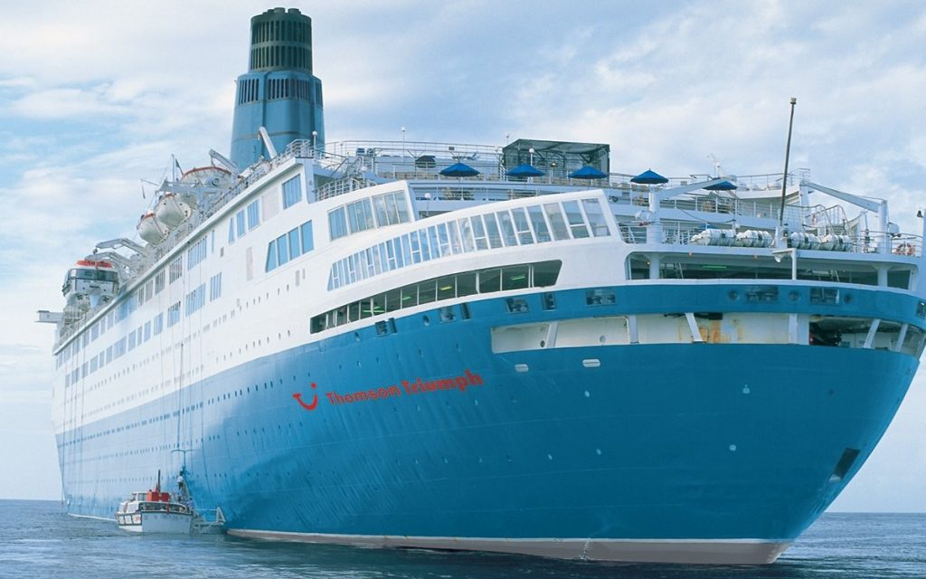 Purchase The Abandoned QE From Cunard - Thomson dream cruise ship latest news