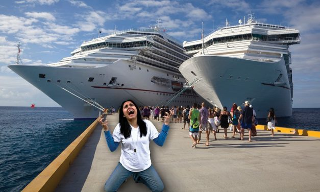 Mother Misses Cruise Ship Whilst Kids Still On-Board!