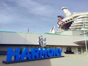 harmony of the seas sign
