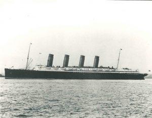1950's Cunard Ship