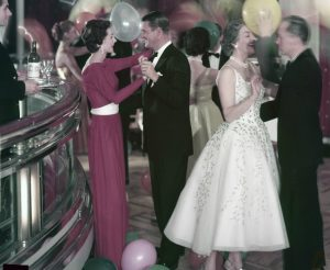 Cunard Balloon Dance 1950