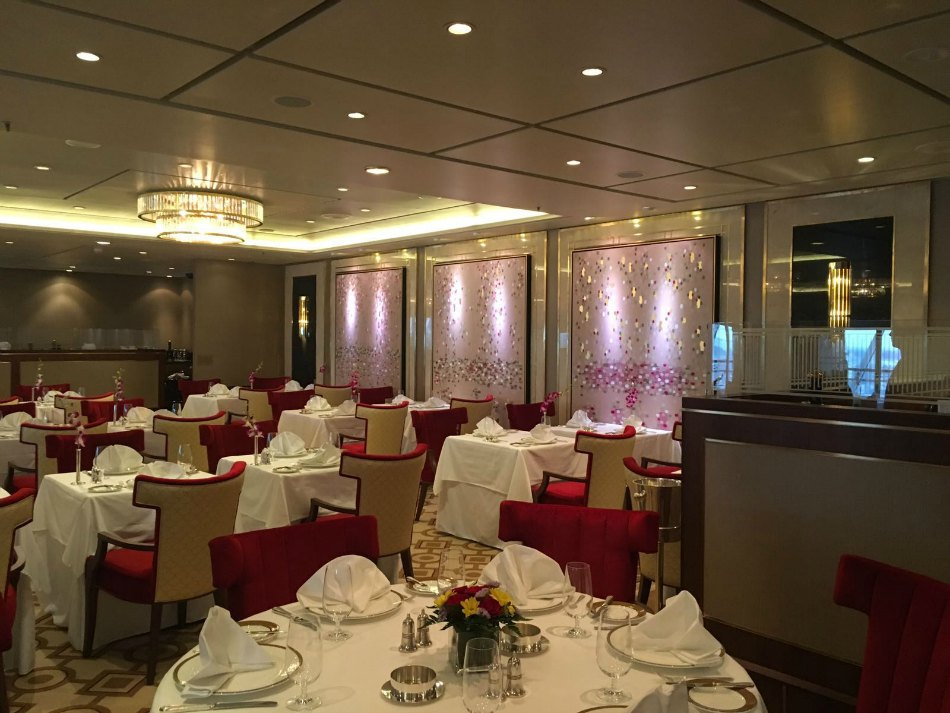 qm2 remastered dining