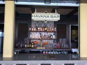 carnival vista havana bar