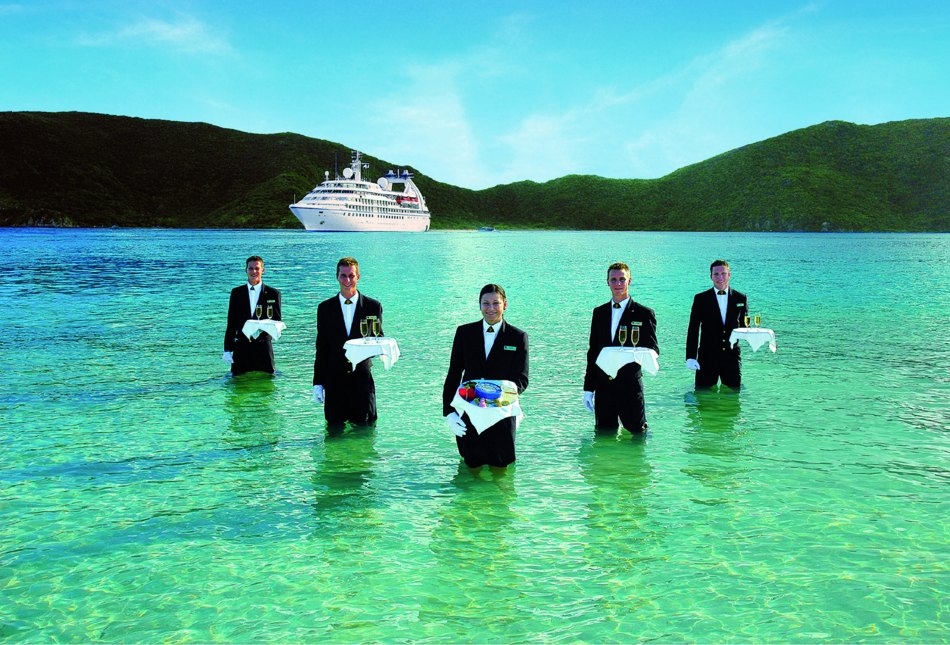 Caviar In The Surf On Seabourn