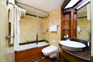 Silversea veranda suite bathroom