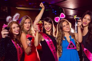 Hen party on a cruise ship