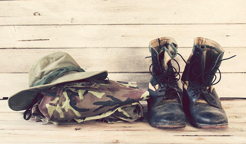packing military tricks