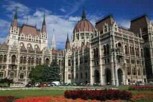 Budapest parliament on shore excursion