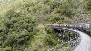 scenic railway to Cairns Australia