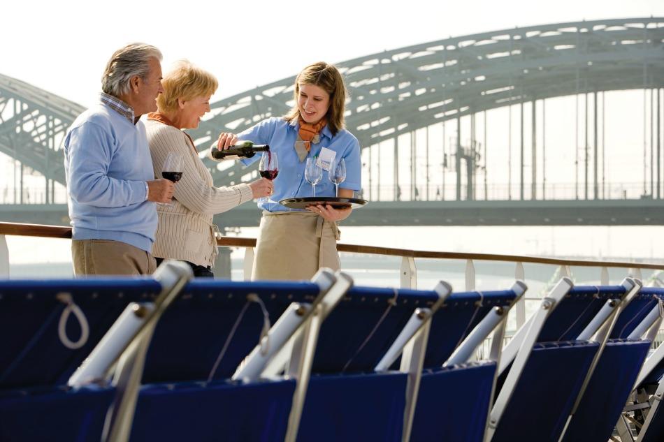 wine themed cruise on Avalon ship
