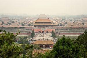Forbidden city in Bejing
