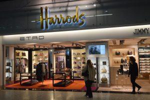 Harrods in London Heathrow airport