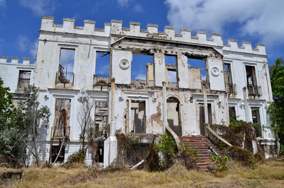Barbados ruins