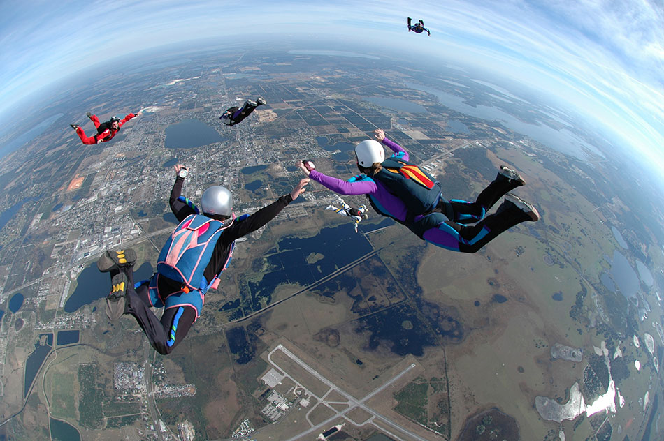 experiences skydive