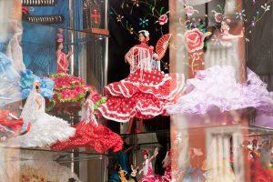 flamenco dolls souvenir from spain
