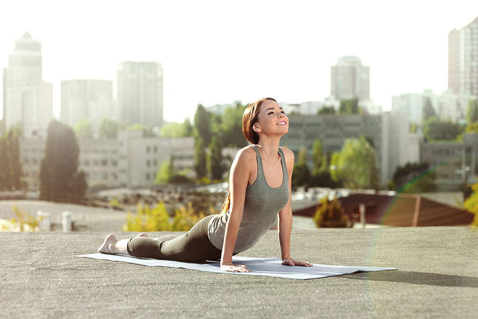 experiences rooftop yoga