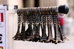 eiffel tower souvenirs from paris