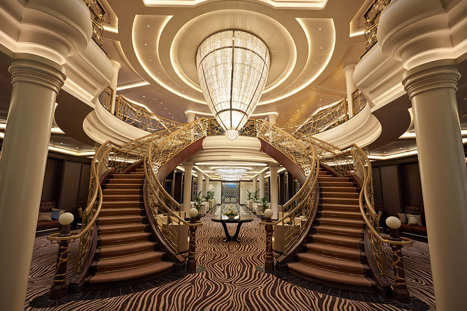 Take An Exclusive Look At The Most Expensive Cruise Ship Ever Built!