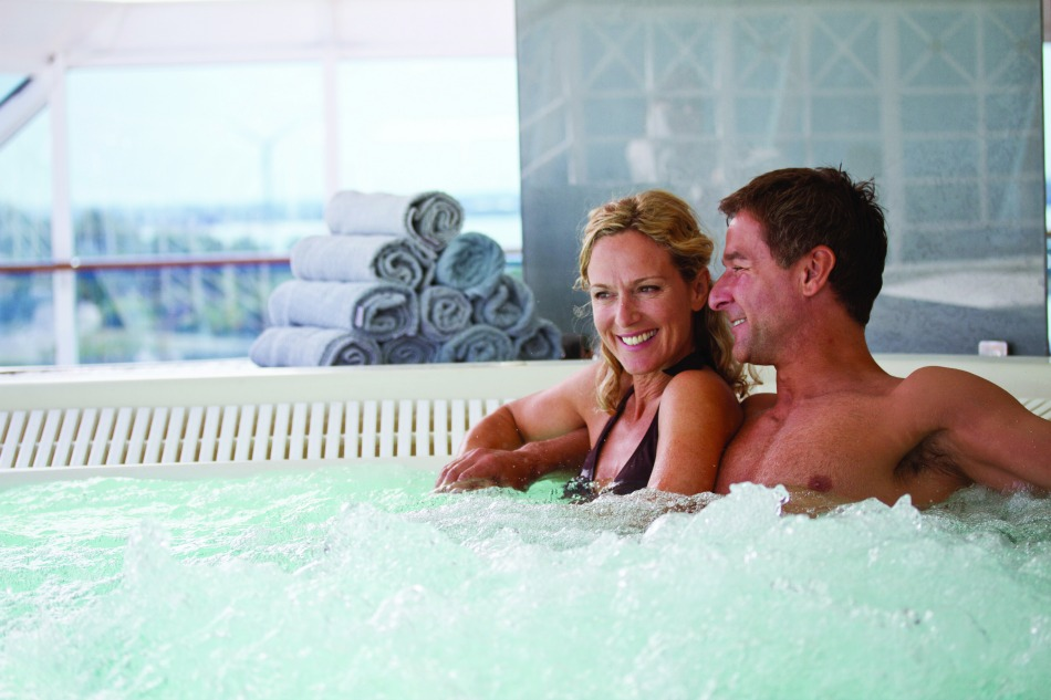 5 star cruise line Azamara spa
